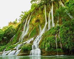 سفر به آبشار های زیبای استان لرستان در نوروز