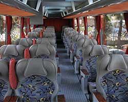 امن ترین و بهترین صندلی برای نشستن در اتوبوس