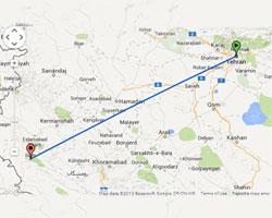 بلیط اتوبوس ایلام به تهران قیمت ها و ساعات حرکت