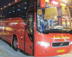 خرید بلیط اتوبوس از مبدا شهر اندیشه