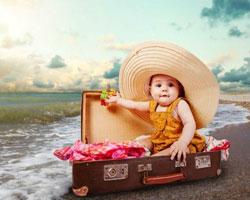 راه های سرگرم شدن کودک در سفر