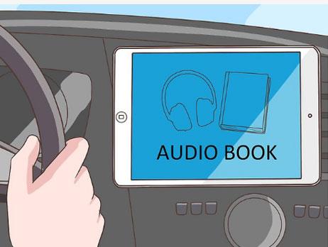 گوش دادن به کتاب صوتی در سفر