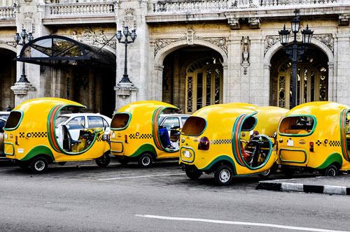 Coco Taxi  هاوانا ، کوبا
