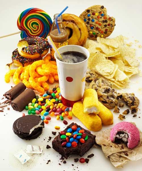 خوراکی های شیرین