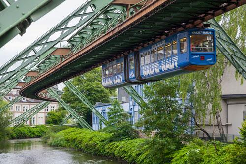 خط آهن معلق - ووپرتال ، آلمان