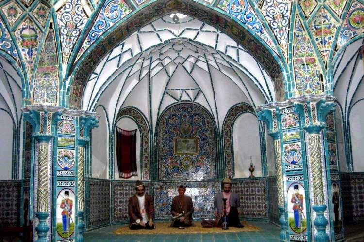 اطلاعات تکمیلی بلیط اتوبوس تهران به اراک - حمام چهار فصل