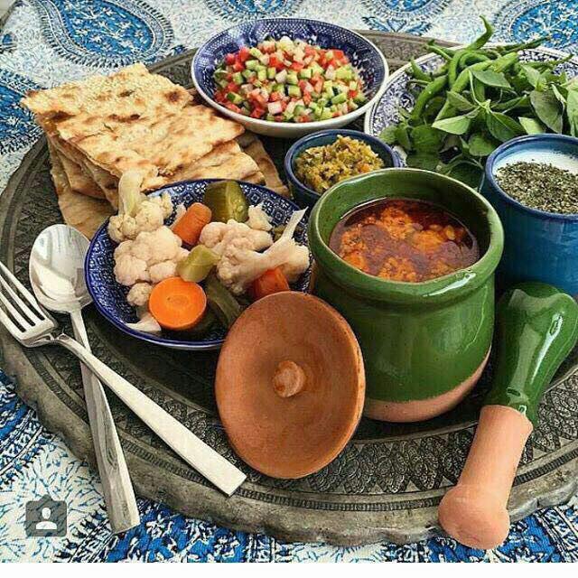 غذای بهاباد