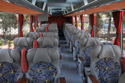 صندلی های امن در اتوبوس
