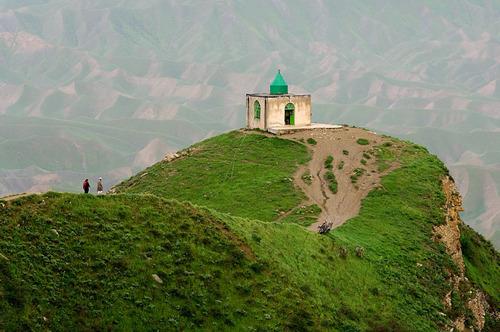 زیارتگاه اسرار آمیز خالد نبی(ع)- جاذبه های دیدنی گنبد کاووس