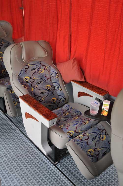 صندلی امن در اتوبوس