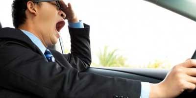 خواب الودگی رانندگان