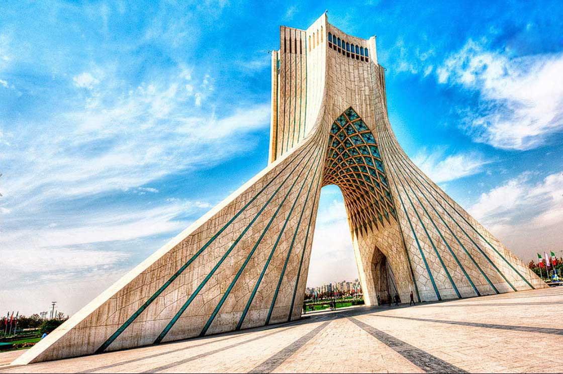 خرید بلیط از تهران- تهران- میدان آزادی