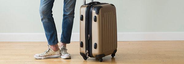 سفر با چمدان